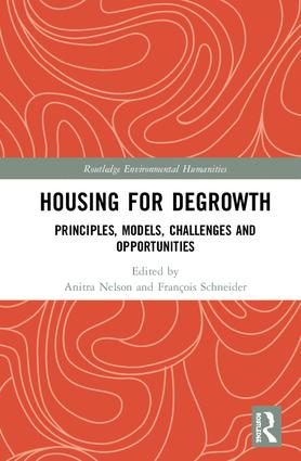 The book cover of the housing for degrowth book.